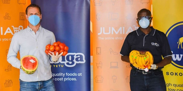 Twiga Foods and Jumia Kenya sign fresh produce distribution deal